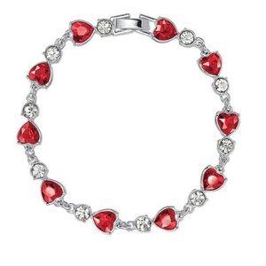 Tennis Bracelet-Dazzling Heart Collection by Avon